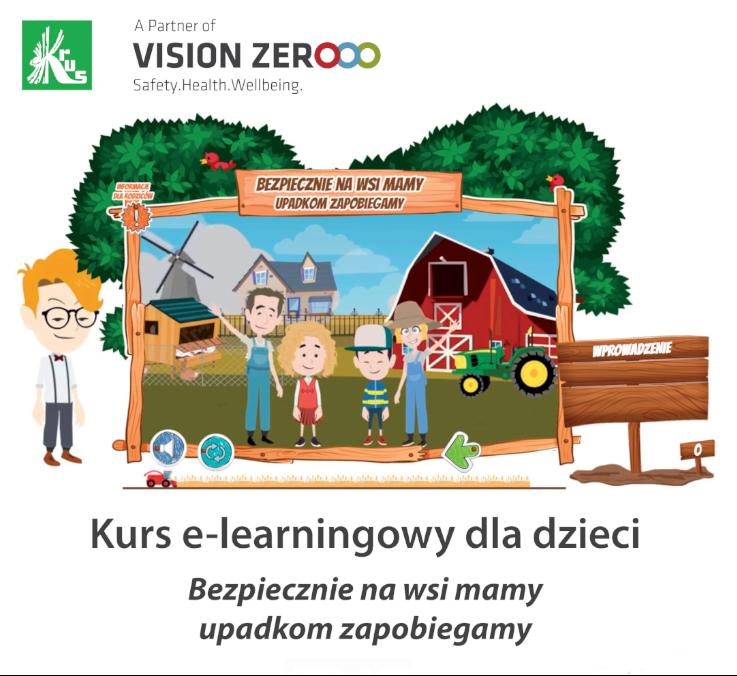 Kurs e-learningowy KRUS dla dzieci